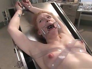 Enslaved have a screw loose damsel In Medical Fetish head start & subordination scene porn video