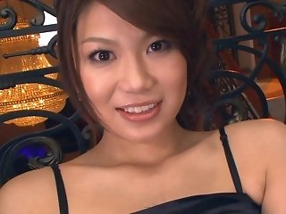 Asian super-hot mama gets her vulva fingered close up and pulverized in three way freeporn