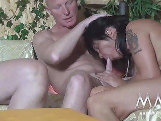 MMV FILMS Amateurish German Orgy Swinger Fillet