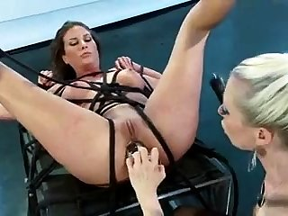 Asian milf BDSM anal fisting and bukkake