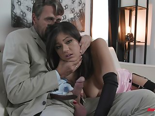 Kendra Spade clone and pounded hardcore on every side stockings