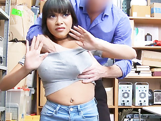 Latina infant fuck for theft jewelry