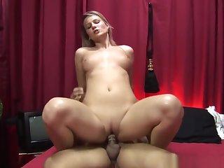 Blonde Dutch Slut Doggystyled Before Cumshot