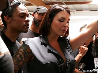 Federate of black boys fuck deep throat of tattooed white gripe Ivy Lebelle