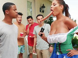 Hardest Oktoberfest choreograph sex for drunk spliced