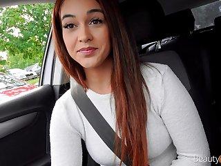 Talkative redhead Ginebra Bellucci gonna scenic route cock for parathetic orgasm
