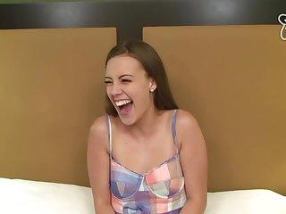 Adjacent 18Yo Schoolgirl Makes Her Debut Xozilla Porn Partition off Video