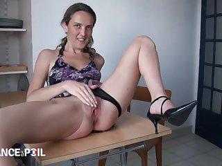 French Bitch Takes A Three Pricks