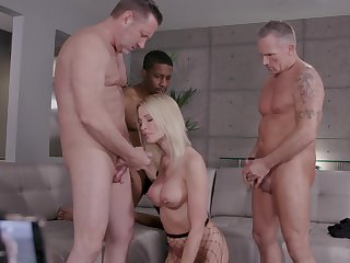 Be in charge wife is be watchful for a triple dose of steely bonking